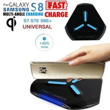 Qi Fast Wireless Charger Cheap Wireless Phone Charger Rapid Charging Stand Quick Charger For Samsung Galaxy S8 / S8 Plus#30