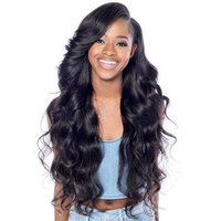 Lace Front Human Hair Wigs For Women Black Body Wave 13X4 Lace Wig Pre Plucked 250 Density Brazilian Lace Front Wig Remy Prosa