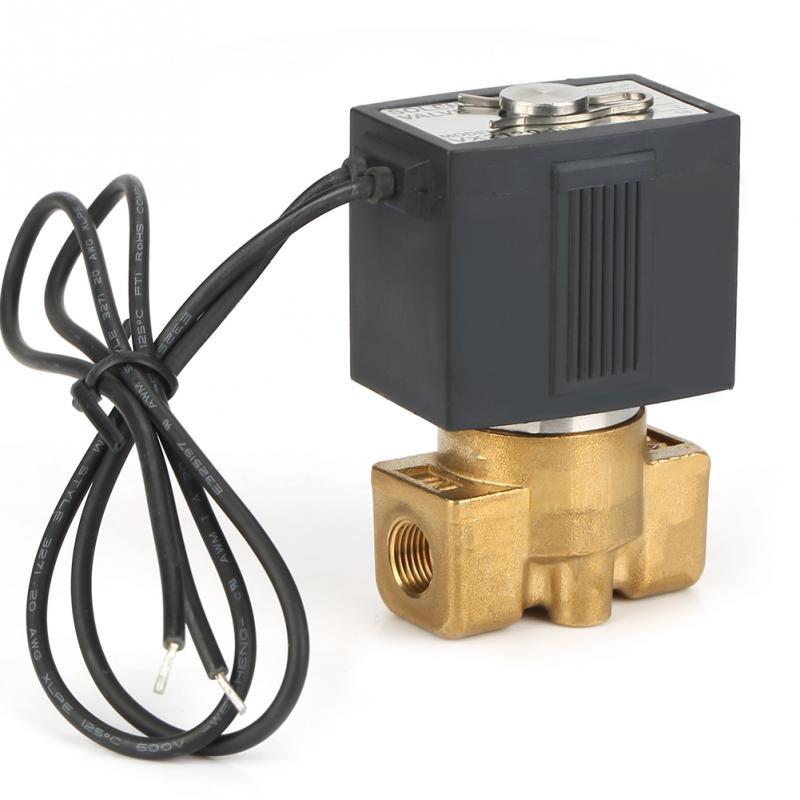 Heimwerker Messing G18 2 Weg Direkt Wirkenden Normal Geschlossen Magnetventil Elektro Magnetische Ventil 0-1.0mpa Zu Den Ersten äHnlichen Produkten ZäHlen Sanitär