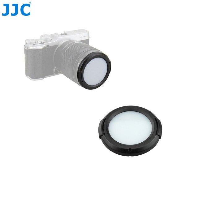 JJC Obiettivo Della Fotocamera Filtro di Protezione Carta di 49/52/55/58/62/67/72/ 77 millimetri Bilanciamento del Bianco Lens Cap per Sony/Nikon/Canon/Olympus/Pentax