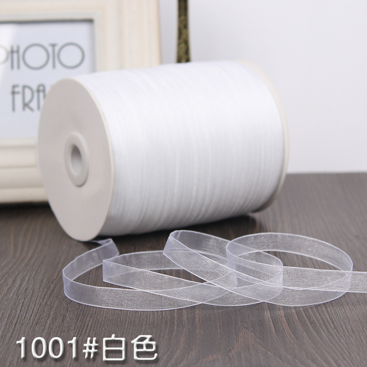6pcs 23m Silk Ribbon for Clothes Sewing Craft Project Holiday Decoration 1mm