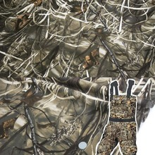 1.5M Width Hunting Bionic Tree Leaves Camouflage Camo Fabric Cloth for Handcraft DIY Outdoor Hide Cover Blind