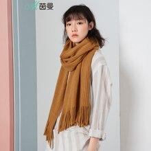 INMAN 1883140185 ผู้หญิงฤดูหนาวสั้นเกาหลีทั้งหมดจับคู่ผ้าพันคอ