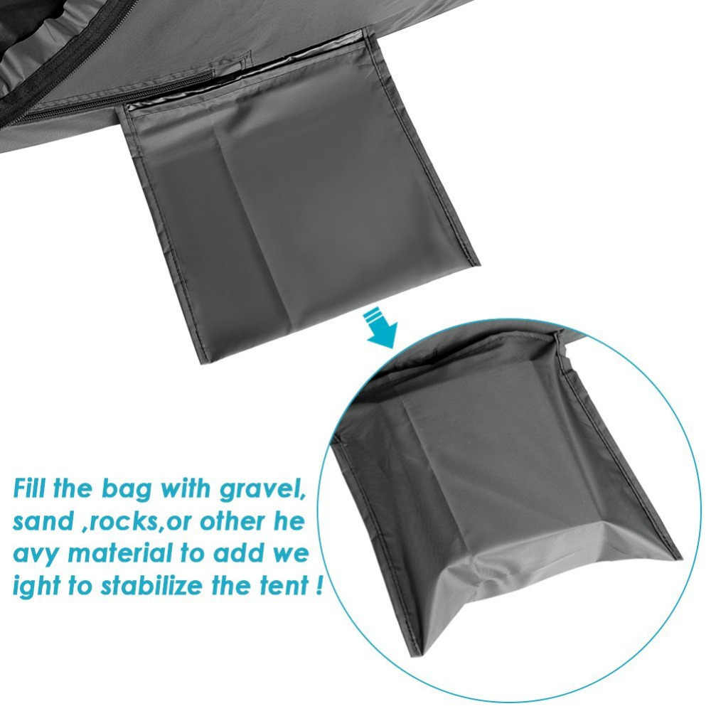 Neewer Camping Changing Room Dressing Tent Portable Outdoor ...