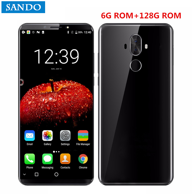 Global Smartphone M6 phone with 6GB RAM s
