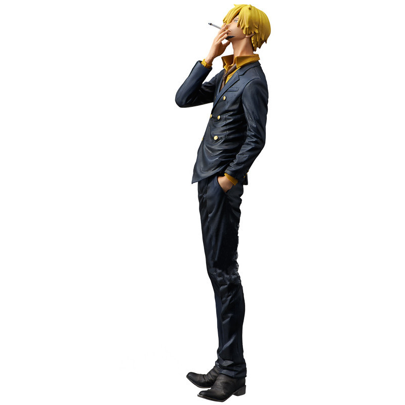 25CM pvc Japanese anime figure one piece Sanji action figure collectible model font b toys b