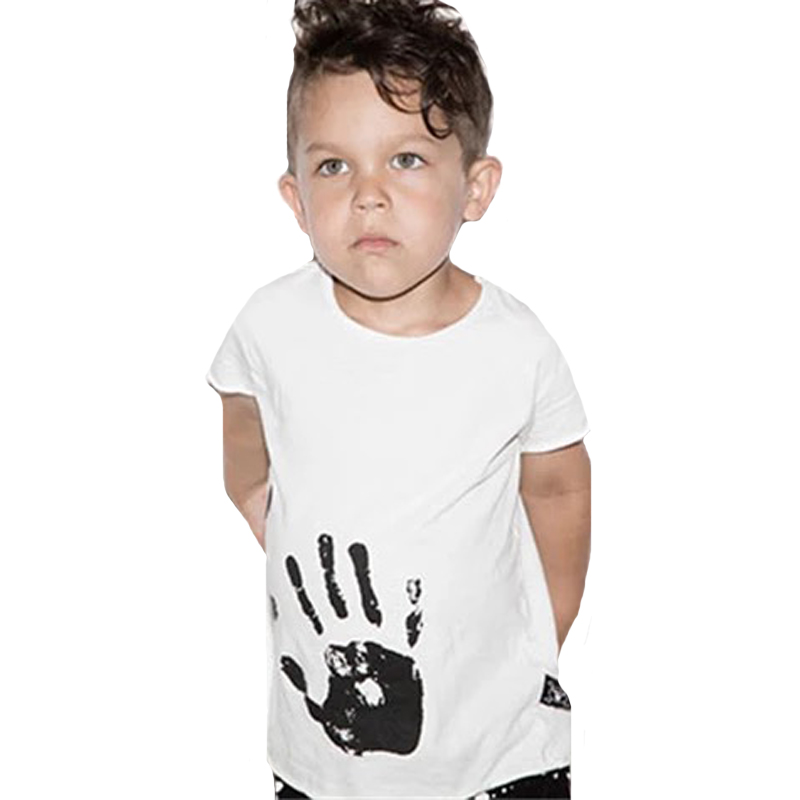 Kids T Shirt Summer 2018 New Hand Printed Toddler Boy Girl T-shirt For Baby Clothes Fashion Brand Children T Shirts Tops OutfitsKids T Shirt Summer 2018 New Hand Printed Toddler Boy Girl T-shirt For Baby Clothes Fashion Brand Children T Shirts Tops Outfits