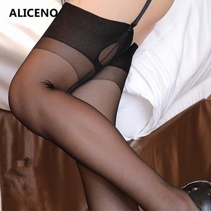 Полностью изготовленные женские черные чулки 15D со швами в ретро-стиле с кубинской пяткой, в полоску сзади, прозрачные шелковые длинные носк...