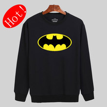 Fashion Batman Symbol Hoodies Men Brand Designer Mens Sweatshirt Men in 3xl Mens Hoodies and Sweatshirts xxs-xxl