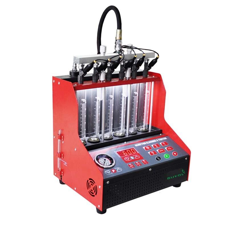 Высокое качество чище инжектор и тестер CNC600 с ультразвуковой Топливная форсунка очистки машины же, как запуск Cnc602a