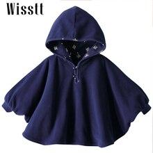Wisstt 2017 Fashion Combi Baby Coats boys Girl s Smocks Outwear Fleece cloak Jumpers mantle Children