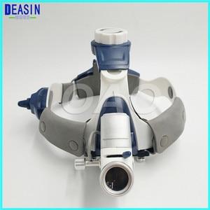 Image 3 - Lampe frontale chirurgicale, lampe dentaire avec loupes tout en un, bonne qualité, 5W LED
