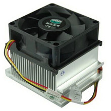 Original CoolerMaster A73, Silent 70mm cooling for Intel Socket 478 Pentium 4 Celeron D, CPU radiator cooling fan, Wholesale(China)