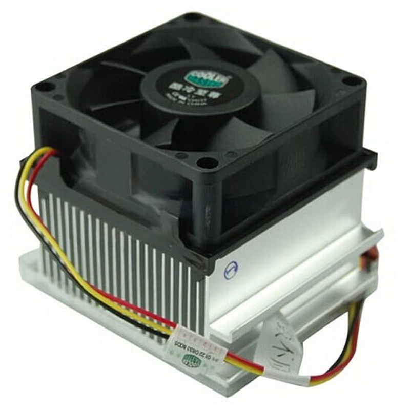 Original CoolerMaster A73, Silent 70mm cooling for Intel Socket 478 Pentium 4 Celeron D, CPU radiator cooling fan, Wholesale процессор intel celeron g530 g530 cpu 2 4g