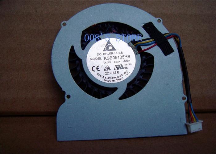 New CPU Cooler Fan For Lenovo Mini Living Room IdeaCentre Q180 For DELTA KSB05105HB BD2K Replace PC Cooling