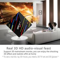 Hot 4GB + 64GB USB3.0 Quad Core Smart TV Set Top Box 2.4G/5G WiFi for Android 8.1