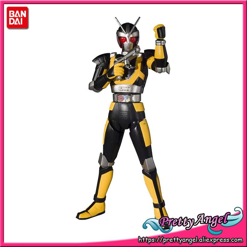 Brettyangel-véritable Bandai Tamashii Nations S. H. Figuarts Kamen cavalier noir RX Robo cavalier figurine d'action