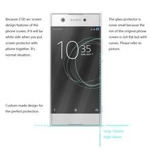2PCS For Glass Sony Xperia XA1 Plus Screen Protector Tempered Glass for Sony Xperia XA1 Plus G3412 G3421 G3423 G3416 Phone Film цена и фото