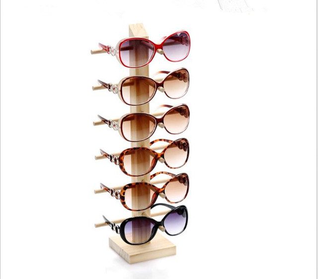 5 Layers Glasses Eyeglasses Sunglasses Show Stand Holder Frame Display Rack ;UK
