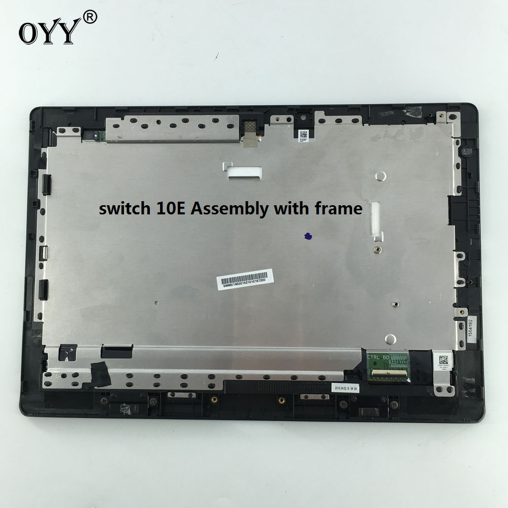 LCD Display touch screen digitizer glass assembly with frame For Acer aspire Switch 10E SW3-013-12AE wholesale price for acer liquid jade s55 lcd display digitizer touch screen for acer liquid jade lcd free shipping