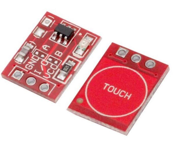 10pcsHot Sale Smart Electronics Jog Type Touch Sensor Jog Type Module Capacitive Touch Buttons Switch for