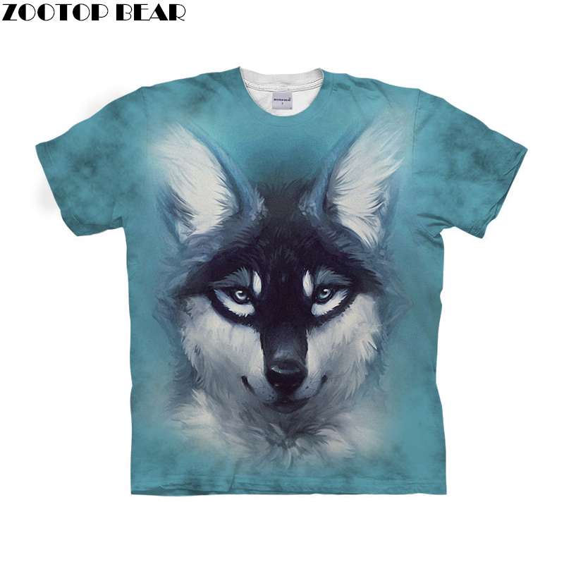 Mens T shirt 3D Print Unisex T shirts Summer 2018 Clothing for Men Street Style Tops Tee ZOOTOP BEAR