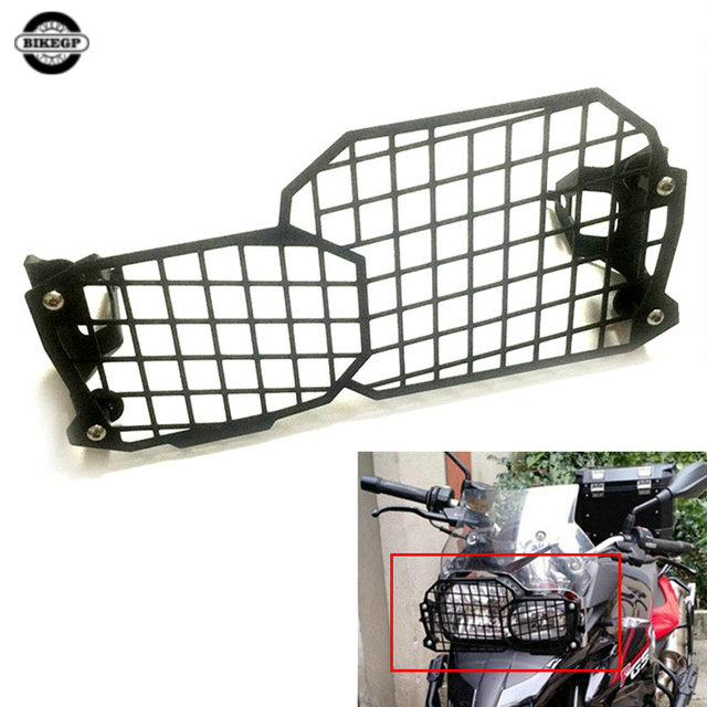bike GP Motorcycle Headlight Grille Guard Cover Protector For BMW F800GS F700GS F800GS adventure 2014-ON Quick disassembly motorcycle radiator protective cover grill guard grille protector for kawasaki z1000sx ninja 1000 2011 2012 2013 2014 2015 2016