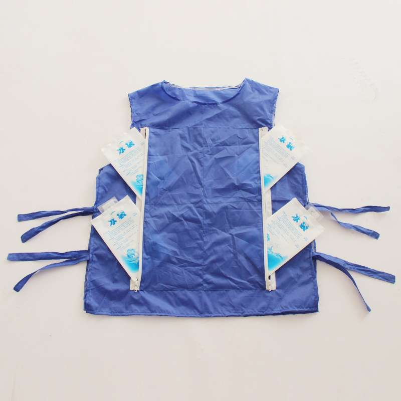 Candid High Temperature Protective Clothing Chill Vest Summer Cooling Vest Can Be Installed Ice Pack Cooling For The Mascot Costume Discounts Price Costume Props