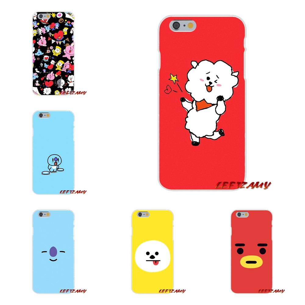 bts bt21 tata bt 21 Accessories Phone Shell Covers For