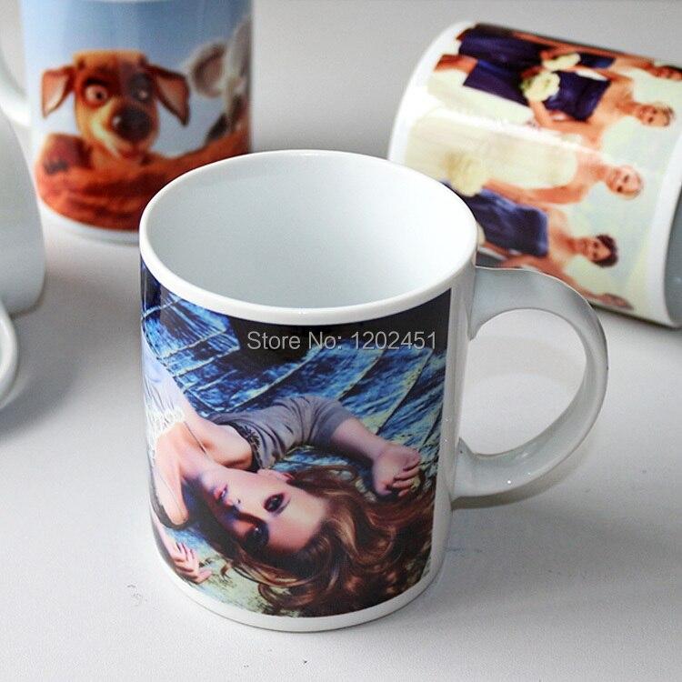 SPSCO 11oz Qeramike Sublimation Lakër kafeje, tufa të bardha të - Kuzhinë, ngrënie dhe bar - Foto 4