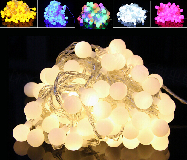DHL 30M 300 LEDs 220V waterproof IP65 Outdoor Multicolor LED String Lights Christmas Lights Holiday Wedding Party Decotation 30m 300 led 110v ball string christmas lights new year holiday party wedding luminaria decoration garland lamps indoor lighting