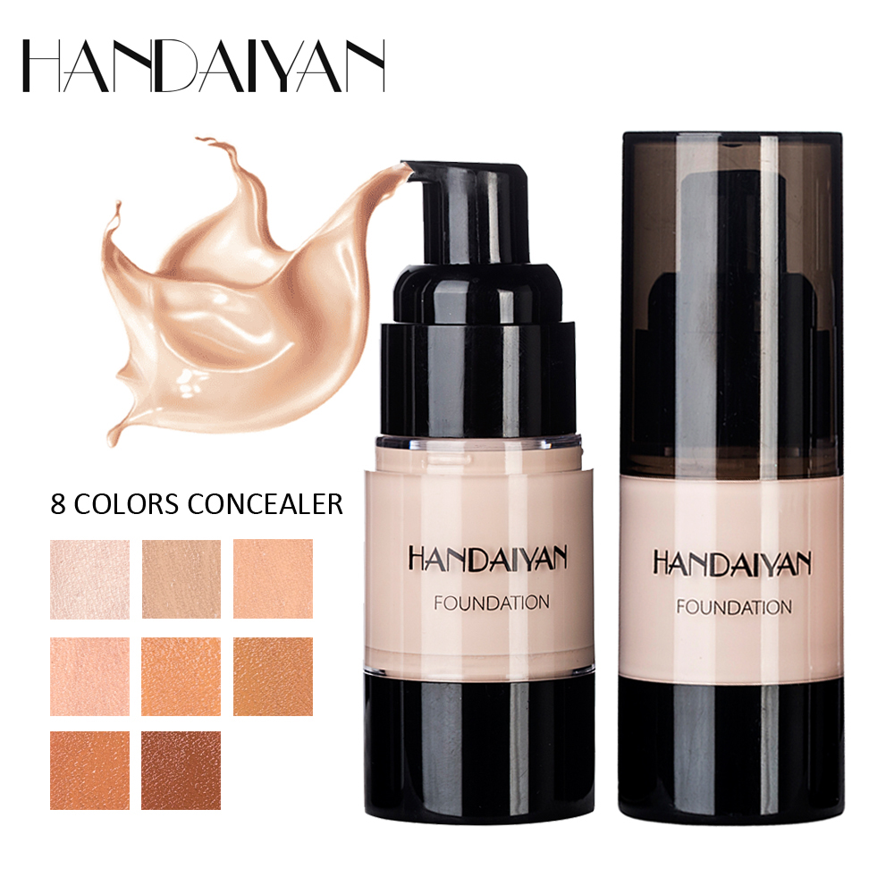 HANDAIYAN Makeup Face Base Primer Cream Concealer Liquid Foundation Make Up Waterproof Lasting Cosmetics Maquiagem TSLM1