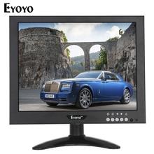 Eyoyo 10.1″ 1024*768 HD Camera Monitor 1080P Video Security Monitor HDMlI VGA BNC For PC CCTV Remote Control