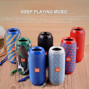 Image 5 - TG117 Wireless Bluetooth portable Speaker Stereo Subwoofer column loudspeaker+TF Built in Mic Bass FM MP3 Sound Boom Box