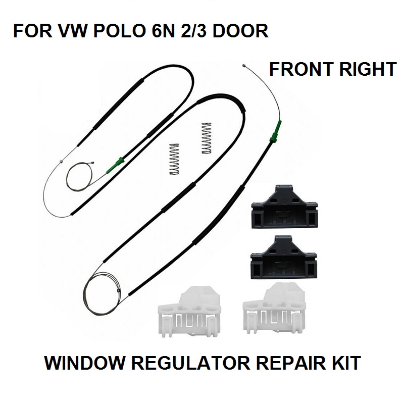 OE#6N3837462 ELECTRIC WINDOW REGULATOR REPAIR KIT FOR VW POLO 6N1 6N2 2/3 DOOR FRONT RIGHT NEW