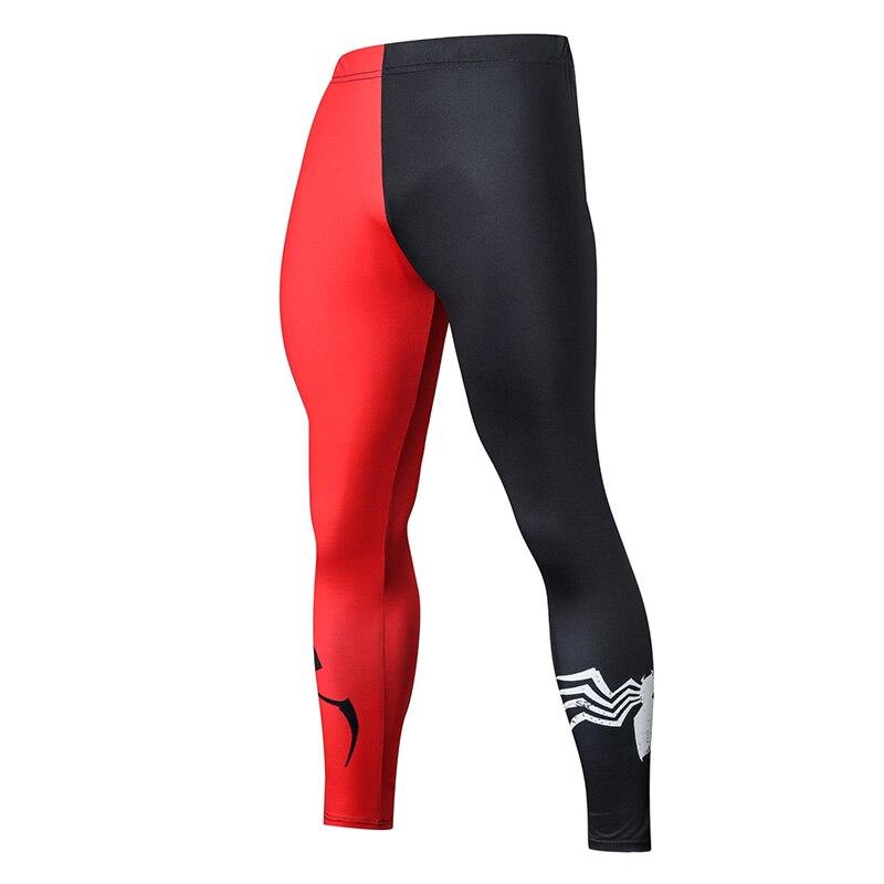 2019 de compresión pantalones mallas para correr hombres pantalones de entrenamiento de Fitness Streetwear Leggings de gimnasio Pantalón Jogging ropa deportiva Pantalones