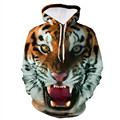 Brand New Men Fashion 3D Animal Loose Sweatshirt Casual Hip Hop Print Clothing Sweatshirts Hoodies Jumper Pullover Moletom Oct31