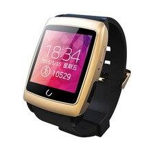 Uwatch bluetooth smart watch armbanduhr mit gps schrittzähler smartwatch tragbare geräte für android telefon uhren inteligentes