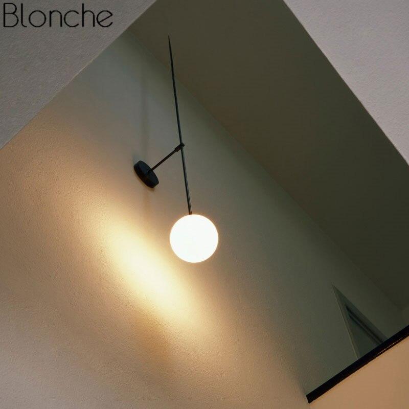 lampada de parede minimalismo nordico levou arandela 03