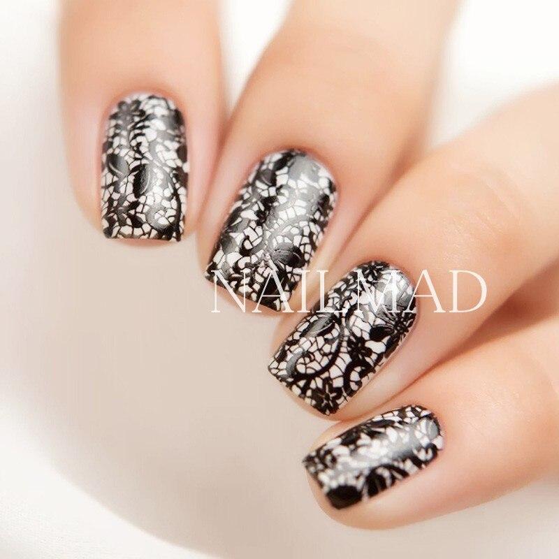 1pc Mandala Paisley Nail Stamping Template Flowers Lace Stamping ...