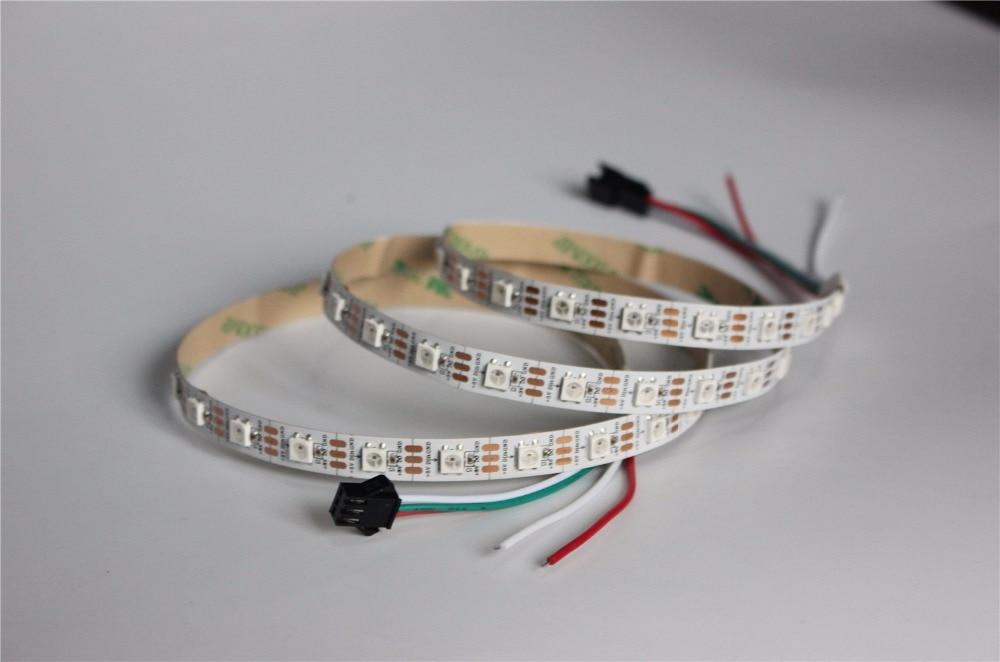 1M Built-in WS2812B Full Color LED strip,60 LED 60 pixels, Raspberry Pi Pixel matrix Display Arduino DIY led strip