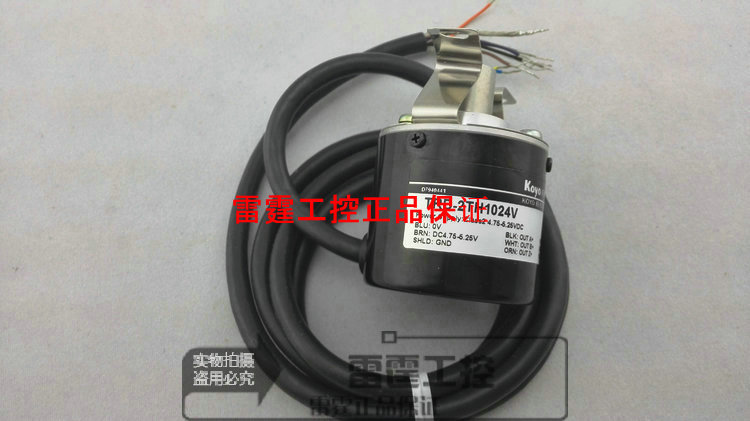 New original authentic Koyo KOYO photoelectric incremental hollow shaft rotary encoder TRD-2TH1024V koyo trd j1000 rzw 1000p r photoelectric incremental rotary encoder 1000ppr trdj1000rzw