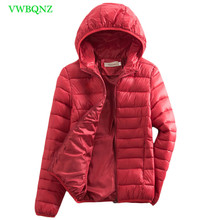 Spring Autumn Korean Down cotton Jacket Women Thin Short Zip