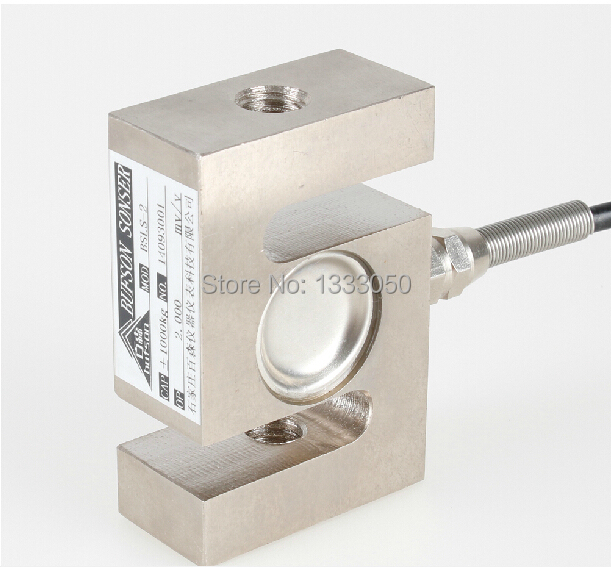 ФОТО d fssdsa Free Shipping S TYPE Beam Load Cell Scale Sensor Weighting Sensor 50kg/110lb With Cable ONE PIECE