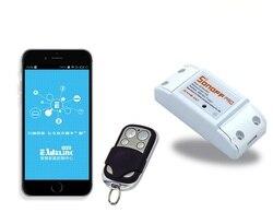 Sonoff-ITEAD WiFi Wireless Smart Switch Modul ABS Shell Buchse für DIY
