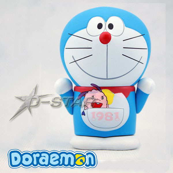 Free Shipping Cute Doraemon 100 Anniversary Edition Limited Version PVC Action Figure Collection Model Toy Gift
