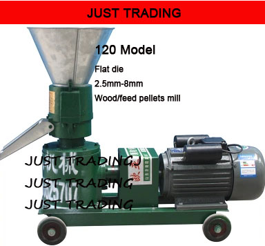 3/2.2kw,120mm 150mm Model Coupled-directly Connection Wood Feed Pellet Mill Machine,pellets Miller