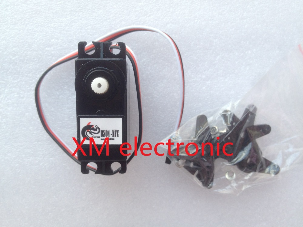 Free shipping ds04 nfc servo 360 degree continuous Servo motor 360 degrees arduino