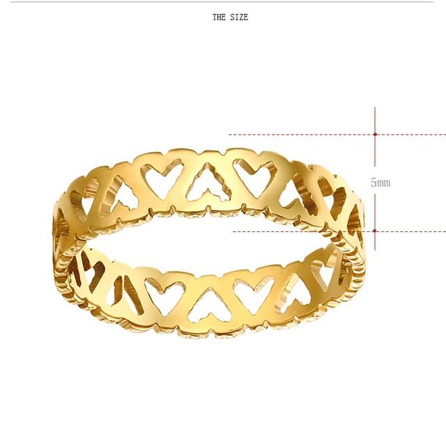 Женские кольца из нержавеющей стали dotifi кольцо для помолвки