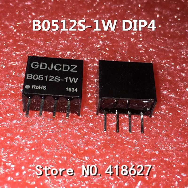 100PCS/LOT B0512S-1W DIP DC-DC isolated power supply module 5V turn 12V1W